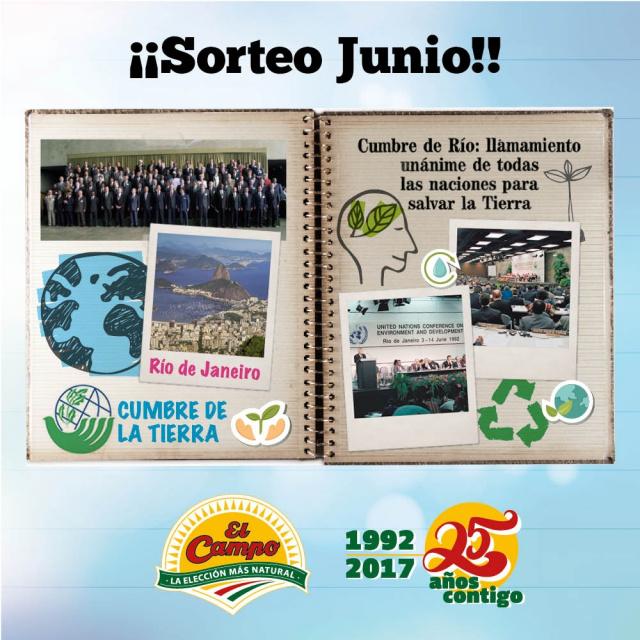 Hace 25 años de la Primera Cumbre de la Tierra de Río