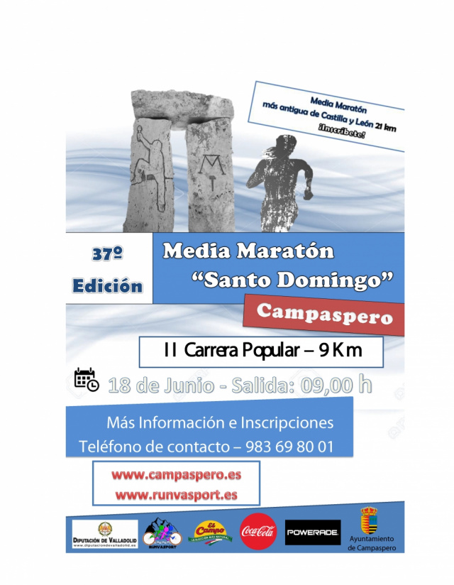 Colaboramos con la Media Maratón de Campaspero