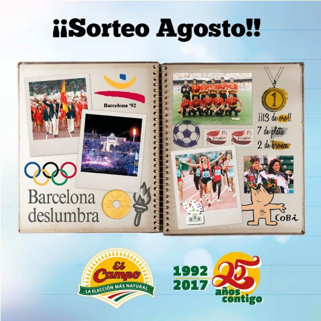 25 años de las olimpiadas en Barcelona