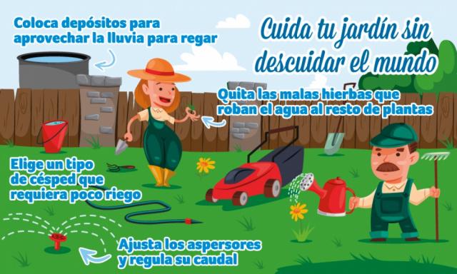 Mayo: Cuida tu jardín sin descuidar el mundo