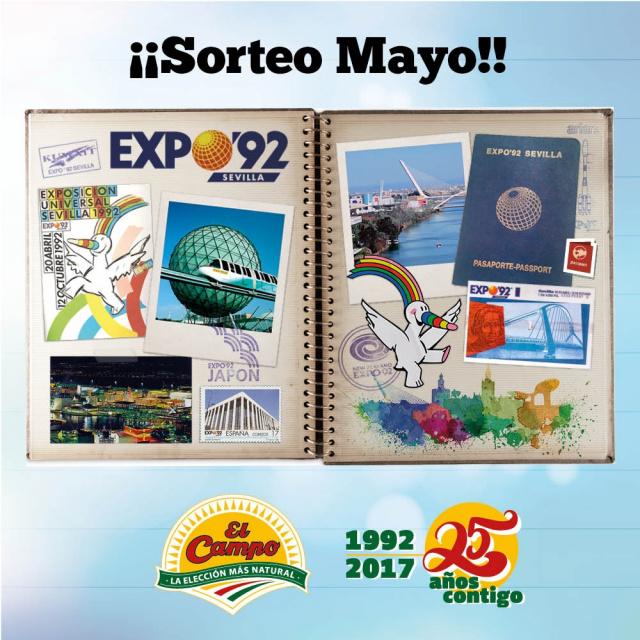 La Expo de Sevilla también cumple 25 años