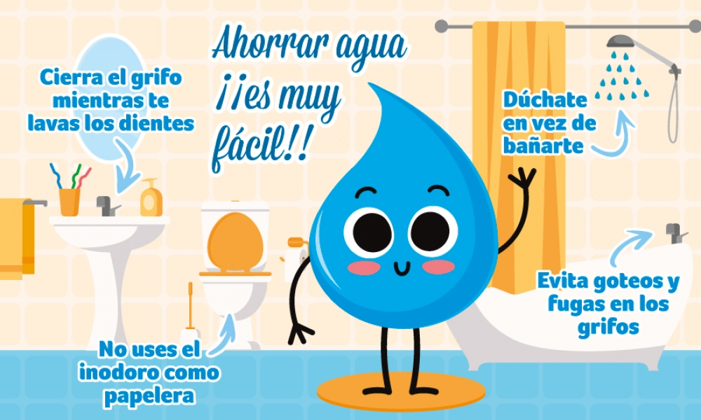Marzo ahorrar agua es muy f cil for Cosas para ahorrar agua