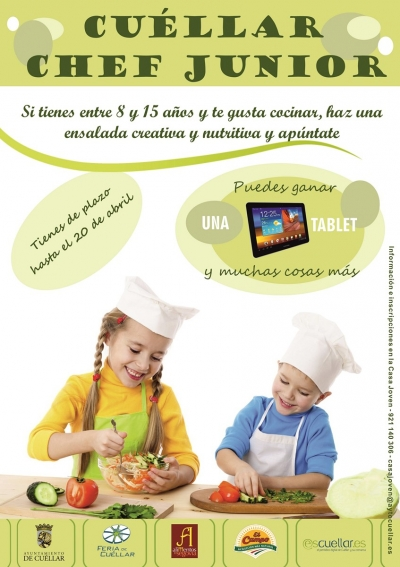 ¡¡Volvemos a Chef Junior de Cuéllar!!
