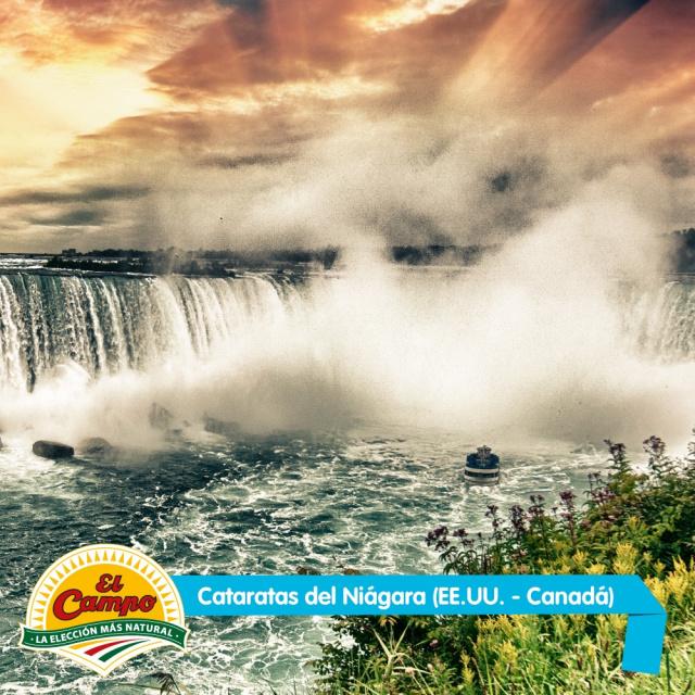 Octubre: Cataratas del Niágara (EE.UU - Canadá)