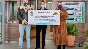 El Campo hace una donación a la asociación Los Santos Ángeles Custodios