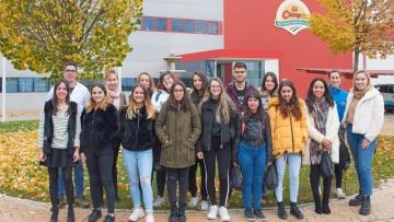 Visita de los alumnos IES Marqués de Lozoya