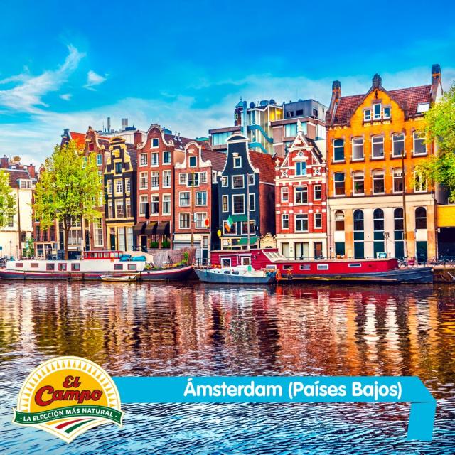 Julio: Ámsterdam (Países Bajos)