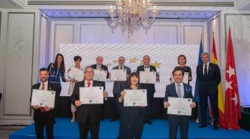 La Asociación Europea de Economía y Competitividad nos conceden la medalla de oro