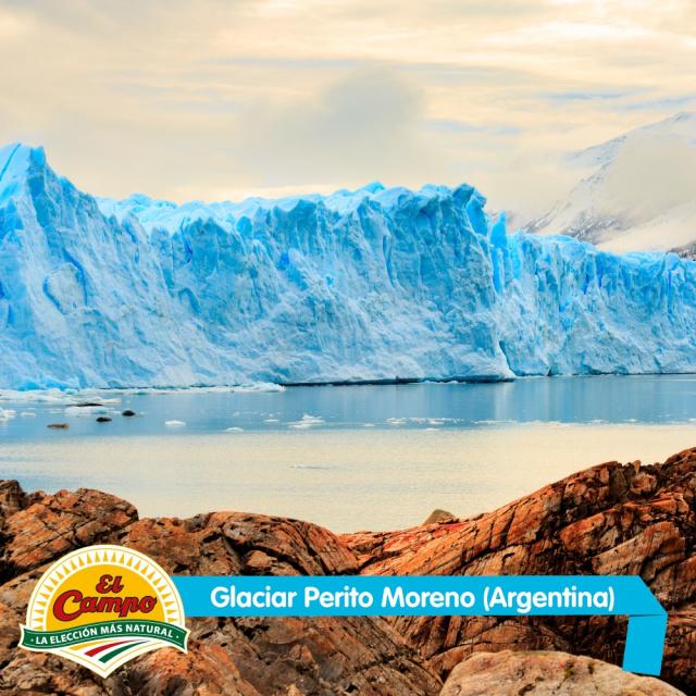 Diciembre: Glaciar Perito Moreno (Argentina)