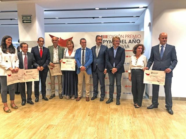 El Campo recibe el Premio Pyme del Año 2019 de Segovia